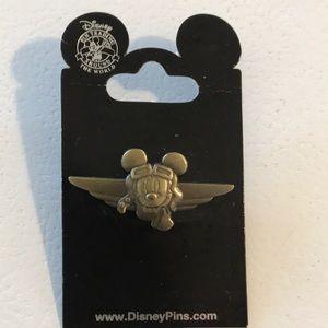 Mickey Mouse Aviator Pin
